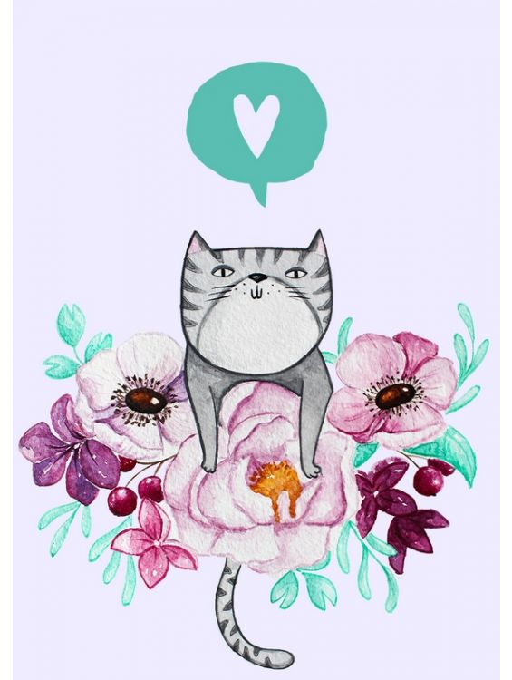Открытка - Cat №1238