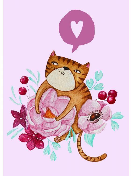 Открытка - Cat №1242