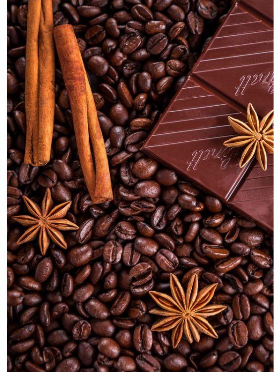 Открытка - Корица и шоколад №1255
