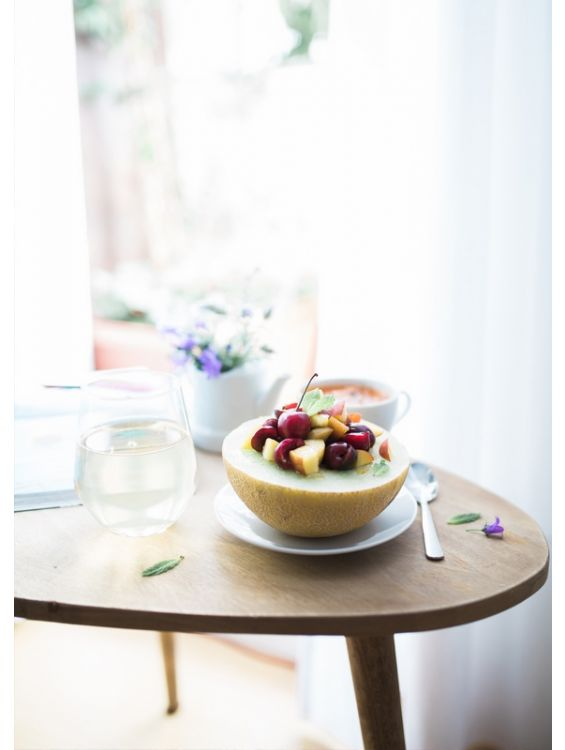 Открытка - Фрукты на завтрак №1280