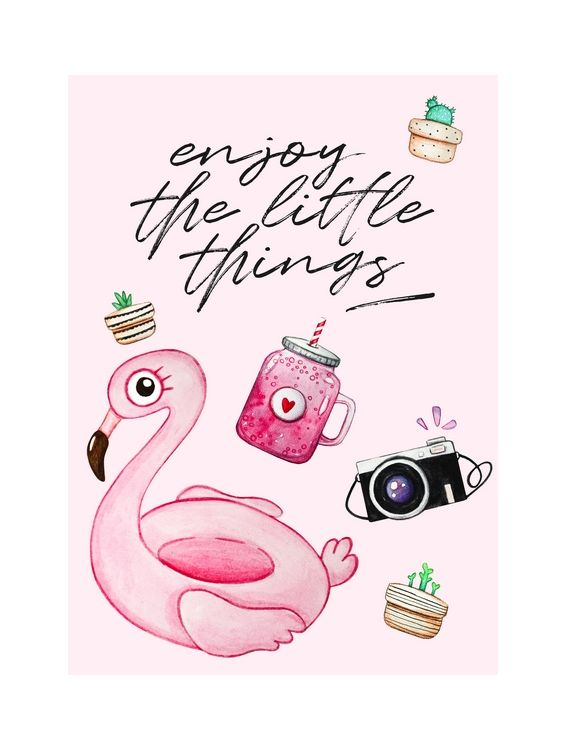 Открытка - Enjoy the little things №1359