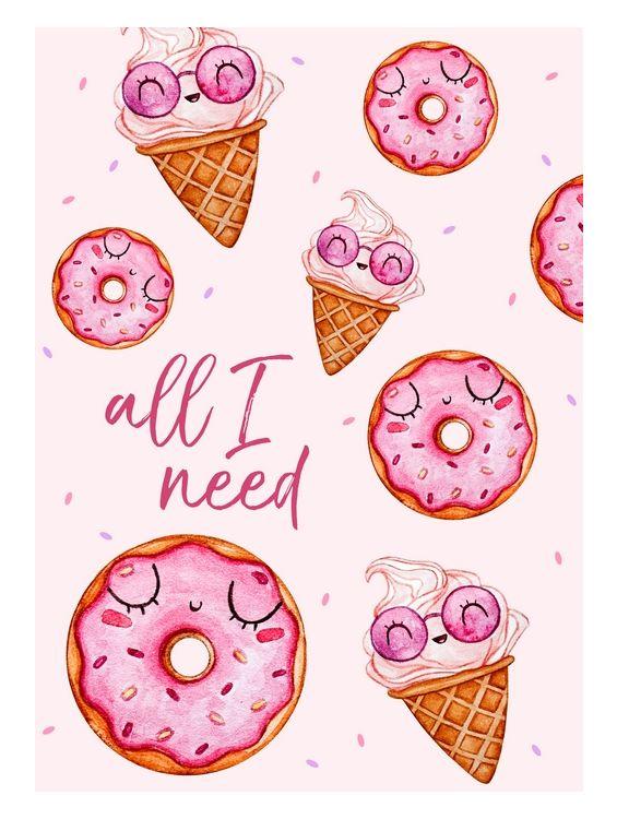 Открытка - All I need №1362