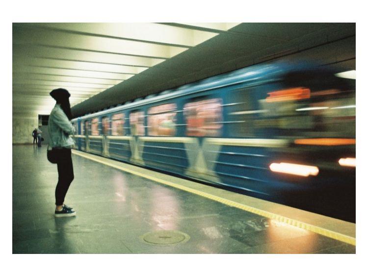 Открытка - Red line №1393