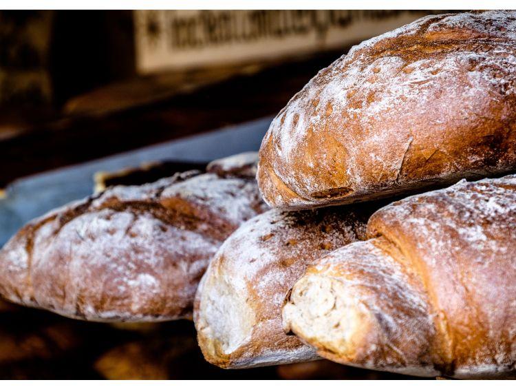 Открытка - свежий хлеб №1285