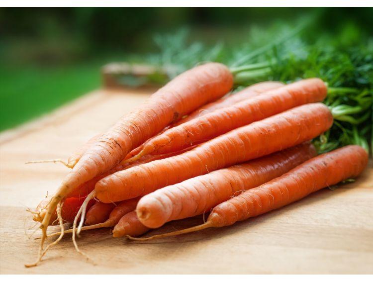 Открытка -Морковка с сада №1286