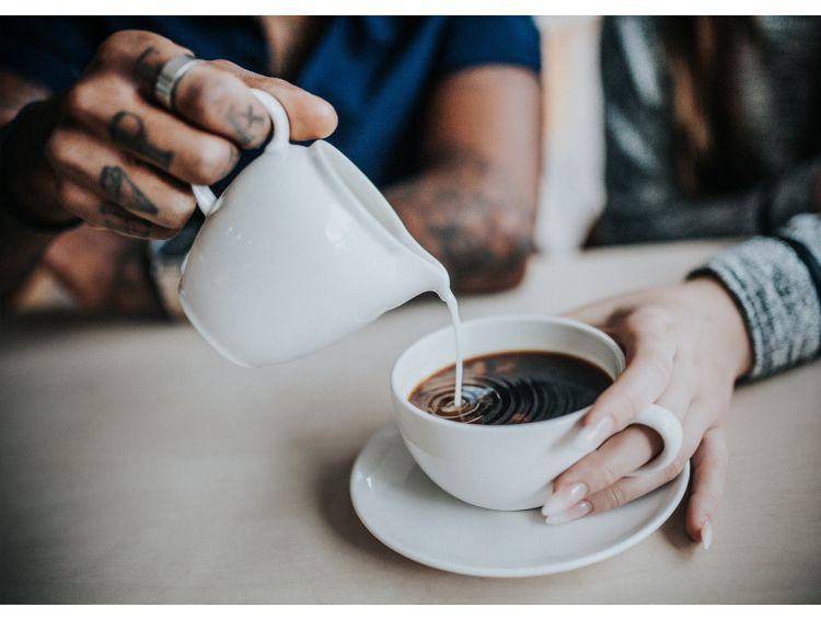 Открытка - Кофе вдвоем №1289