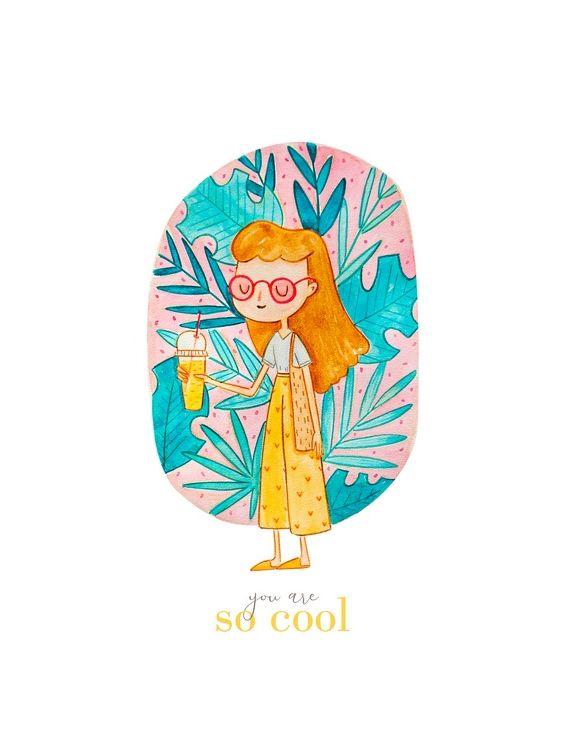 Открытка - So cool №1493