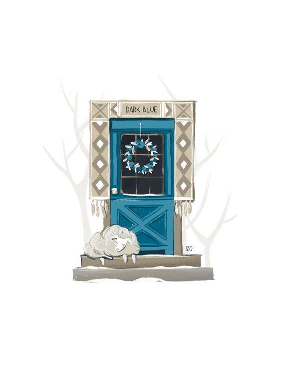 Открытка - Дверь №1627