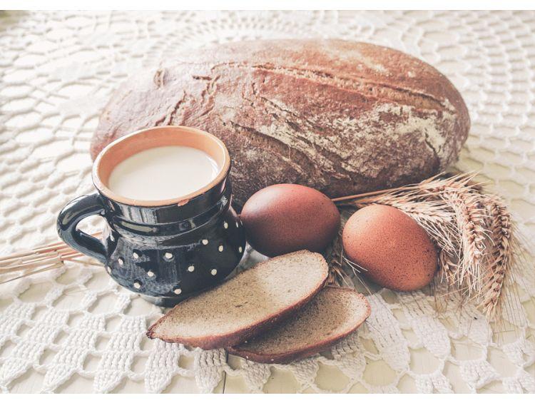 Открытка - Праздничный хлеб №1178