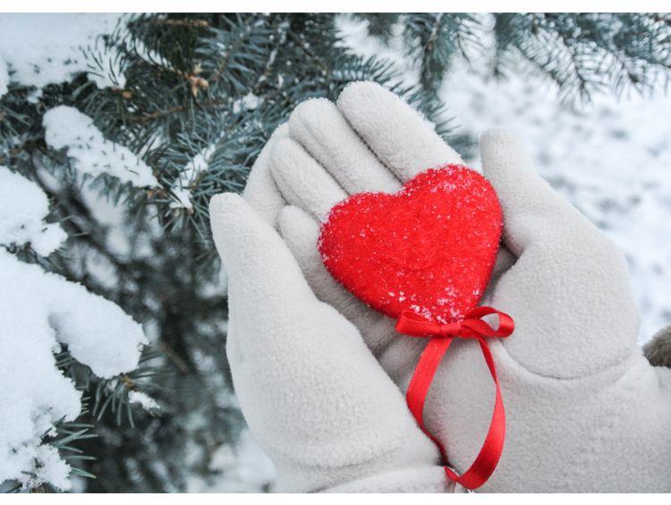 Открытка - Любовь к зиме №1179