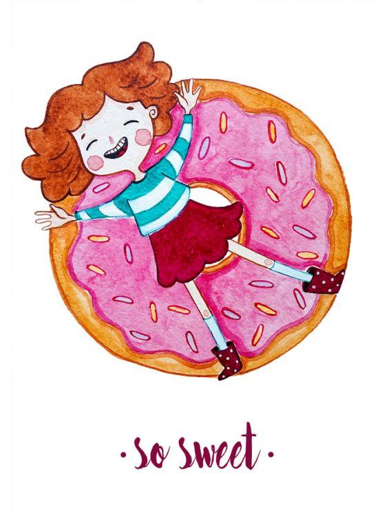 Открытка - So sweet №1186
