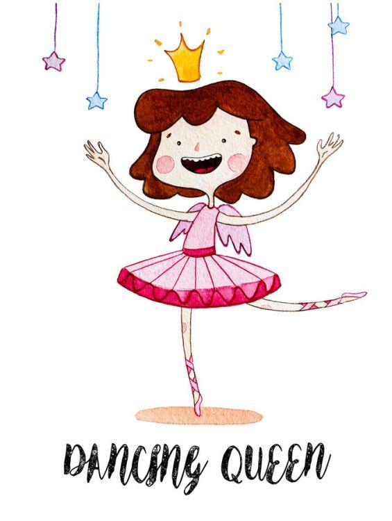 Открытка - Dancing queen