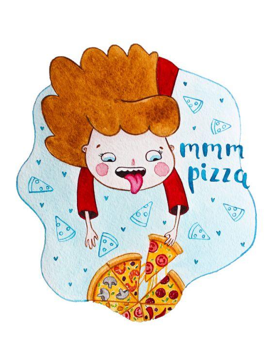 Открытка - MMM pizza №1205