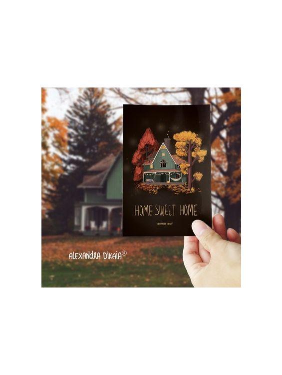 Открытка - Home sweet home №1691