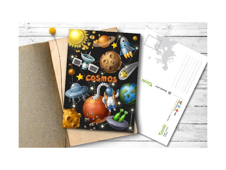 Открытка - Cosmos №1567