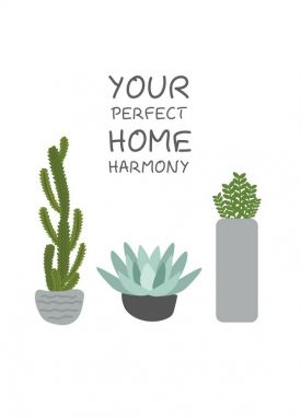 Открытка - Your Perfect Home Harmony №2109