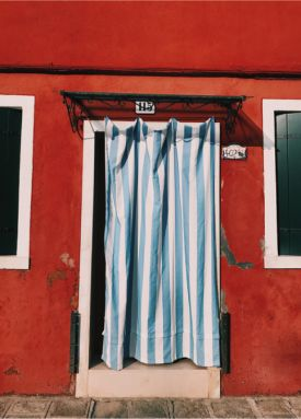 Открытка - Burano, Living place №2206