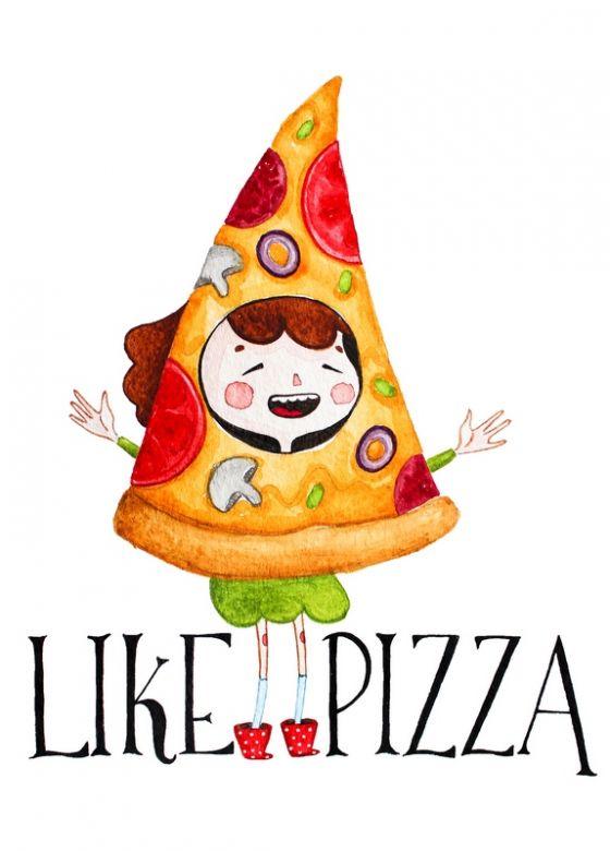 Открытка - puzza №1200