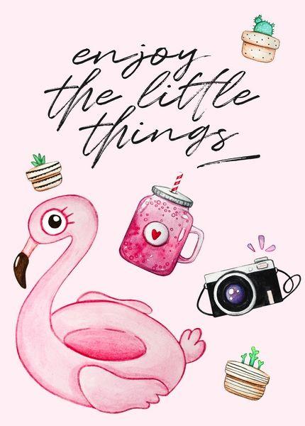 Открытка - Enjoy the little things №1359