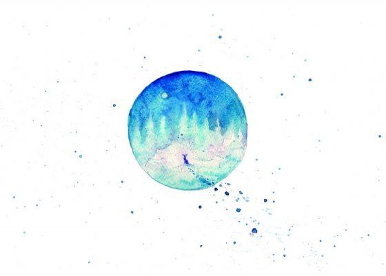 Открытка - Диалог с луной №1370
