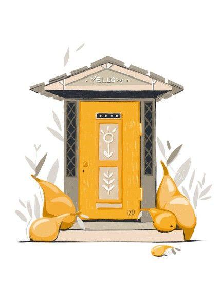 Открытка - Двери №1623