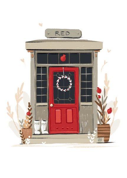 Открытка - Дверь №1625