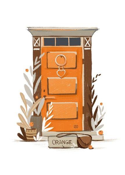 Открытка - Дверь №1626