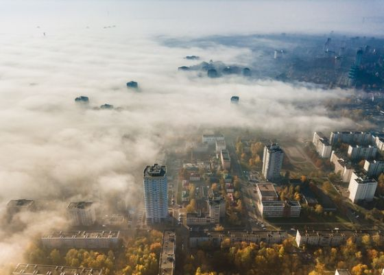 Открытка - Минск просыпается №1735