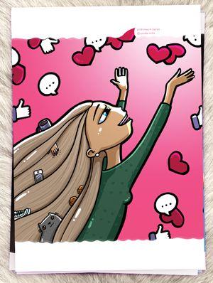 Открытка - Любовь в мелочах №1432